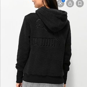 PUMA downtown pullover hoodie
